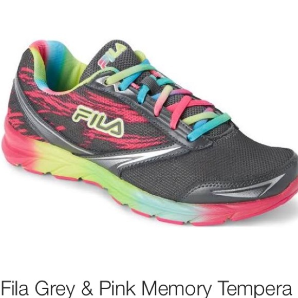 select for authentic official photos best deals on Fila Rainbow Unicorn Swirl Memory Foam Sneaker NWT